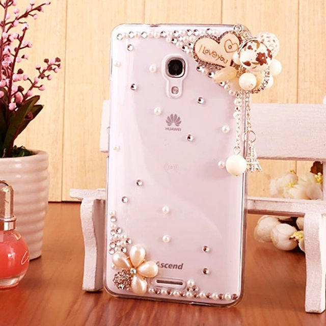 New Arrival Hard Bling Covers for Huawei Ascend Mate 2 Diamond Cell Phone Case