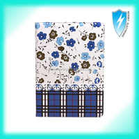 for ipad air 2 pu leather printing case for ipad 6