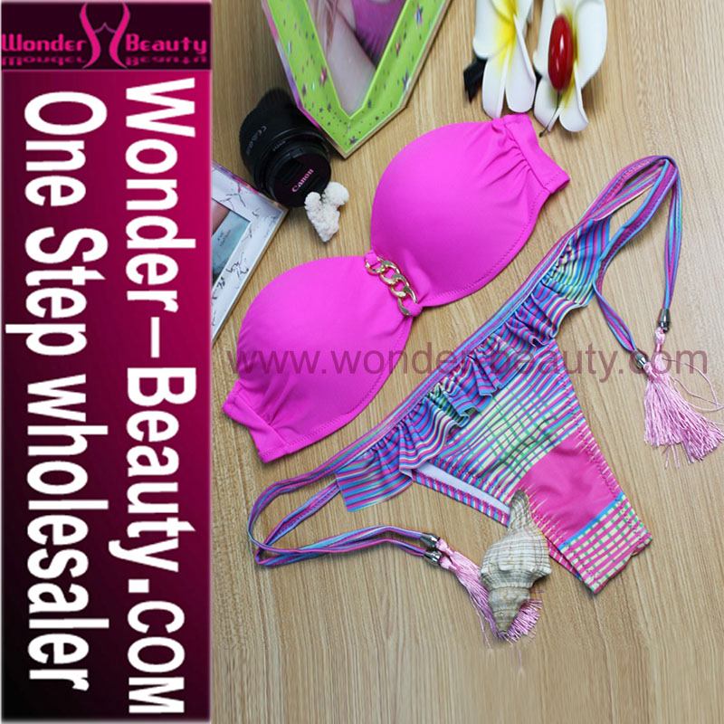 Breathable Hot Women Sexy Thong Bikini With Very Cheap Price WT8433