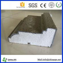 polystyrene cornice molds for concrete molding