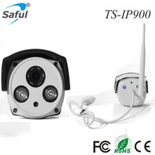 Saful TS-IP900 1.3 MP 720P HD CCTV Outdoor Wireless Solar Power Home Security IP Camera