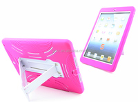 Robot kickstand armor cover for iPad Air iPad 5 factory cheap mobile back case