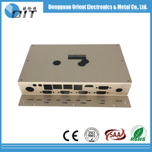 OEM/OEM stainless steel/aluminum/brass stamping metal case for electronics