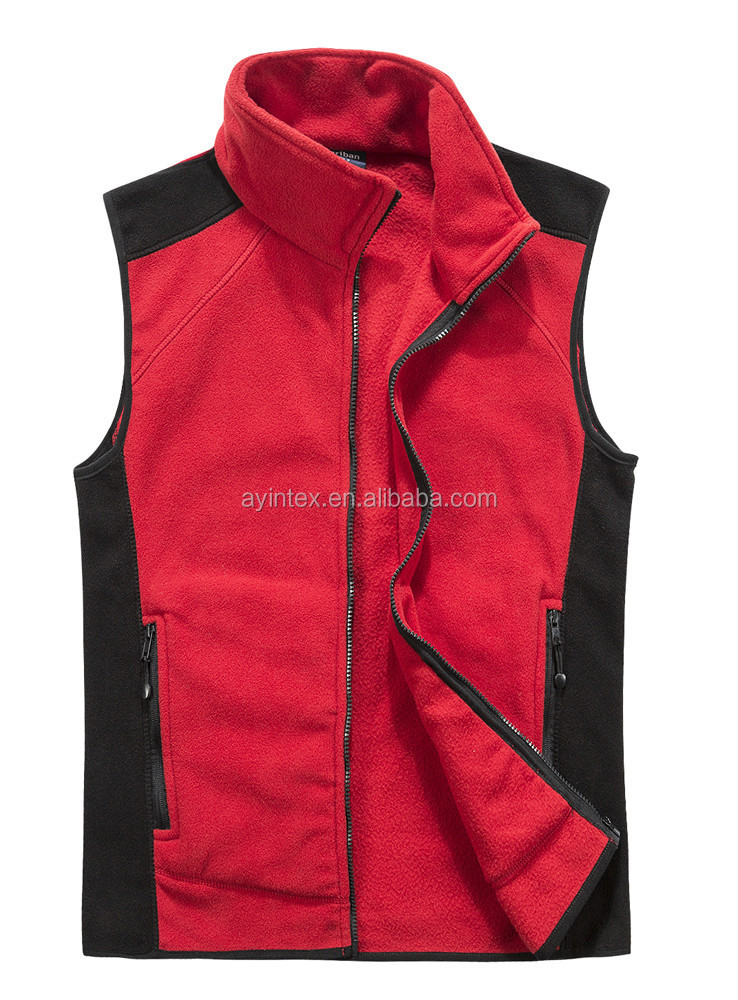 Popular Sports Men vest coat Polar Fleece jacket