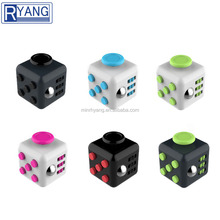 Wholesale factory price stress reliever toy fidget cube with different types