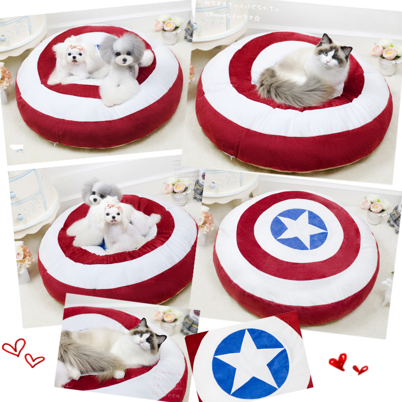 Quality Round Dog Beds Cat Bed Wholesale Pet Products Pet Shop
