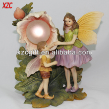 Fairy Solar Energy Polyresin Home and Garden Decoration