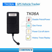 Good Quality TK06A GSM GPS Vehicle Car Tracker with Android IOS Apps