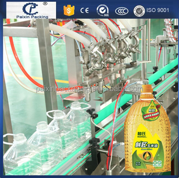 Free shipping oil bottling filler machine Customized packing line