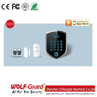 2015 new 3G Wifi GSM/PSTN Wireless Smart Security with 3g video intercom Car alarm system WM2