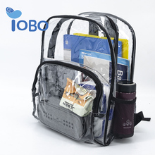 Best Selling Customized Clear PVC Transparent School Bag <strong>Backpack</strong> For Kids Child