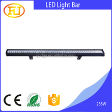 50 inch 288W 4x4 C ree Led Car Light, Curved Led Light bar Off road,auto led light arch bent
