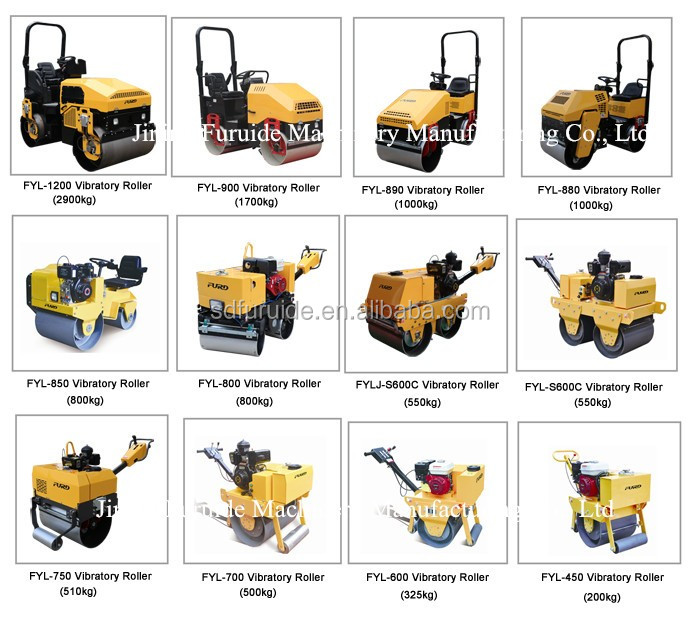 800kg Good Quality Small Vibratory Ground Compactor (FYL-850)