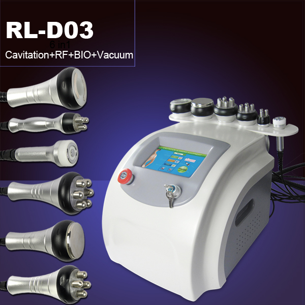 2015 Newest 6 in 1 rf cavitation machine/ultrasound cavitation slimming gel/ultrasonic cavitation vacuum slimming machine
