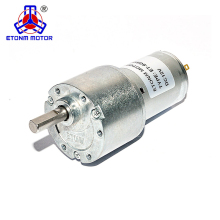 37mm permanent magnet DC Spur Gear Reducer Motor 200rpm 8rpm
