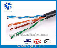 100% Virgin Raw Materials UTP Cat5e Outdoor Cable