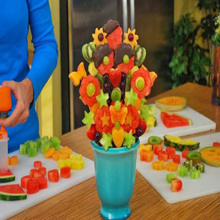 Hot selling vegetable and fruit decoration tools/ as seen on tv Fruit and Vegetable POP and Chef