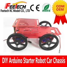 4wd Beginner Robot Chassis Compatible Raspberry pi 3
