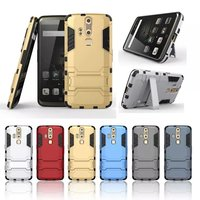 High Quality PC and TPU 2 in 1 Hybrid Armor Stand Function Durable Phone Case For ZTE Axon Elite 5.5 inch