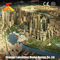 Real Estate model, new product attractive plastic block building model