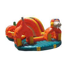 GMIF-5212 Guangzhou inflatable toys inflatable jumpers channel water dragon slide