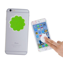 cheap microfiber mobile phone screen cleaner stickers