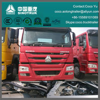 Sinotruk Howo International tractor truck head for pulling trailers for sale