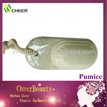 Pumice stone with brush pedicure file