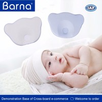 wholesale lovely cheap baby foam pillows with soft leather ,foam contour pillow for baby
