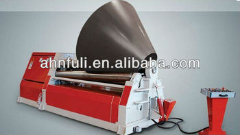 four rollers rolling machine Cone rolling machine