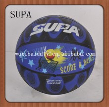 Promotional cheap rubber basketball wholesale