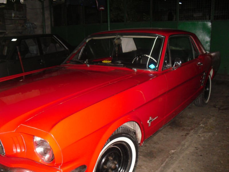 Ford Mustang 1966 Model - Red