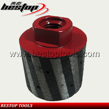 Bestop Hot Sale Resin Filled Diamond Drum Wheels for Grinding Stone