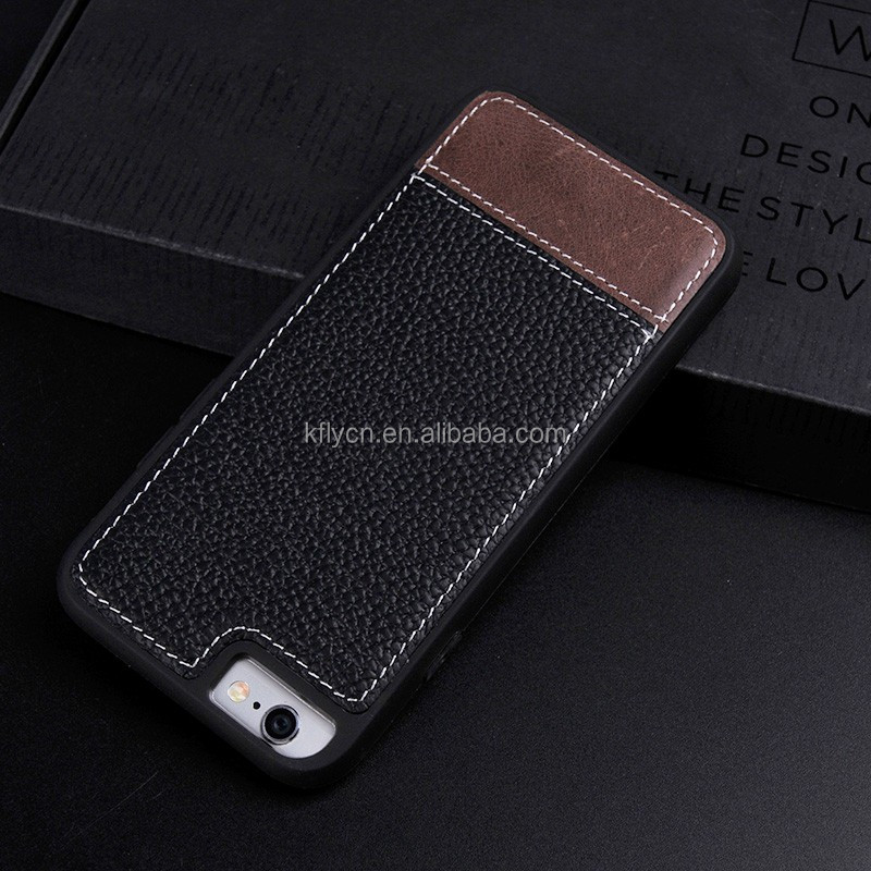 wholesale customize pu leather mobile cell phone case for iphone 7