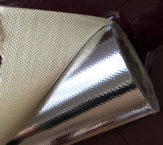 Insulation board laminated aluminium foil fiberglass cloth for Is fiberglass insulation fire resistant