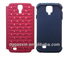 2013 Fashion New Crystal Silicon Phone Cases for Samsung Galaxy S4 i9500 case