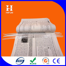 Library Plastic Security EM Magnetic Strip and Book Anti-theft Label