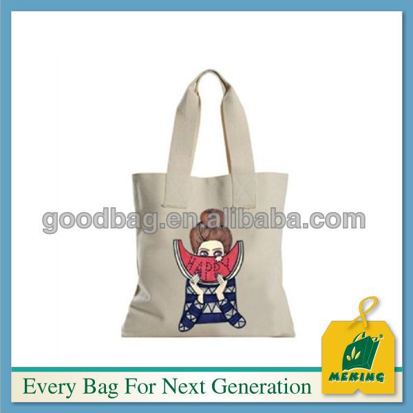 Fancy style Hot sale custom shpping bag canvas wholesale tote bags