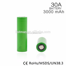 100/100original alibaba express ali new 2017us18650vtc6 3000mah 3.7v rechargeable battery 30a 18650 3000mah li-ion vtc6 e cig