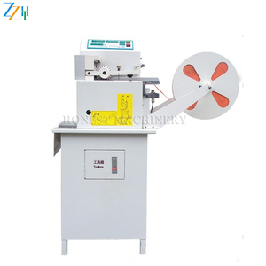 Computer Hot Knife Blade Rubber Ribbon Belt Cutting Machine