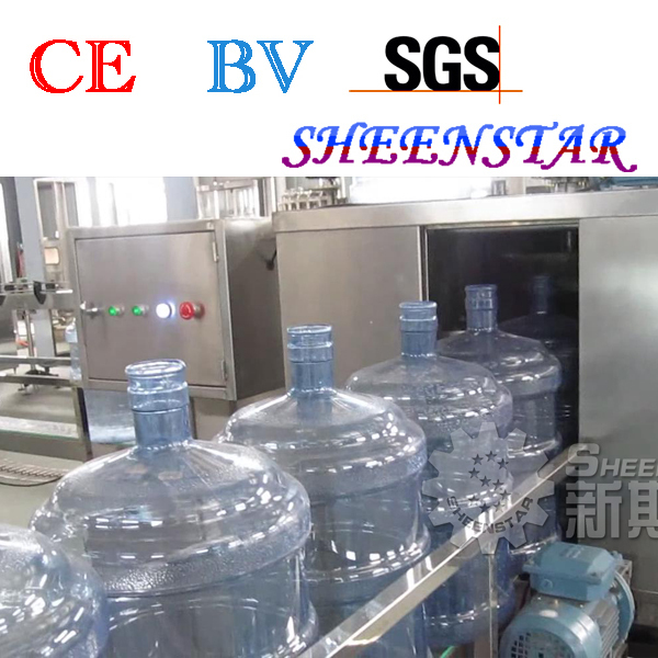 Easy operate 5 gallon drink water bottling plant