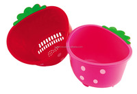 Very beaurtiful small high quality strawberry plastic basket