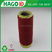 Polyester and cotton blended yarn(melange yarn)