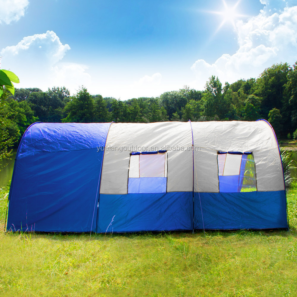 Outdoor Refugees Cheap And Big Tent 10 Man Military Tent & List Manufacturers of 8 Man Tents Buy 8 Man Tents Get Discount ...
