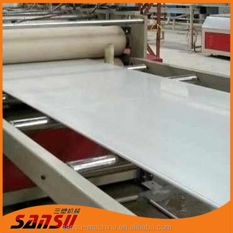 2017 hot sales Decorative Board production line / PVC foam board machine