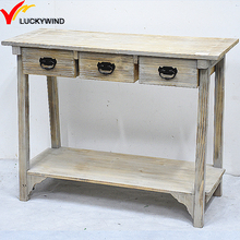 french provincial furniture style wooden console table