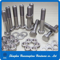 Standard Size Stainless Steel Hexagon Bolt