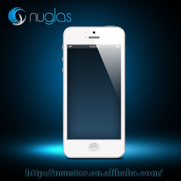 NUGLAS TEMPERED ASAHI GLASS SCREEN PROTECTOR for iPHONE 5 5S 5C HIGH QUALITY FILM