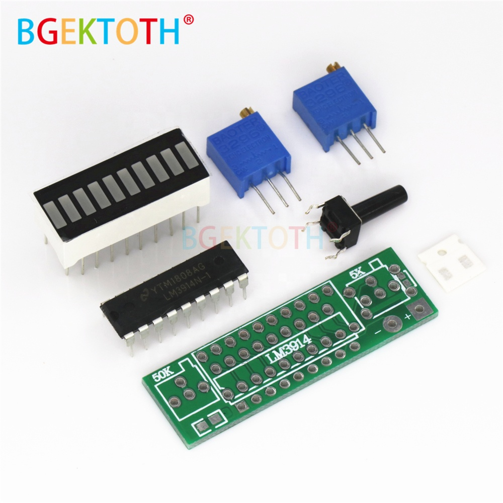 Wholesale Led Display Ic Online Buy Best From China Circuit Bar Lm3914 Picture Of Good Electronic Diy Kits Strongdisplay Strong Board 37v Lithium