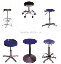 aesthetic school lab stools with adjustment